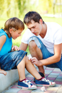 Sprains and Strains and Scrapes