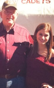 kristen and dad