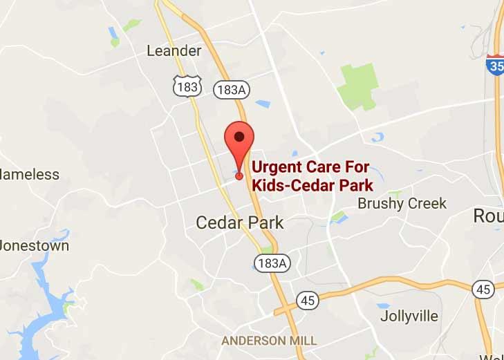 Cedar Park Texas Map on